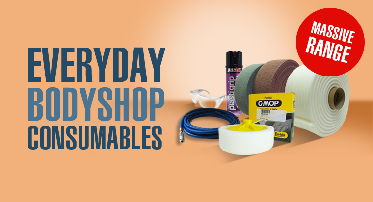 BODY SHOP CONSUMABLES